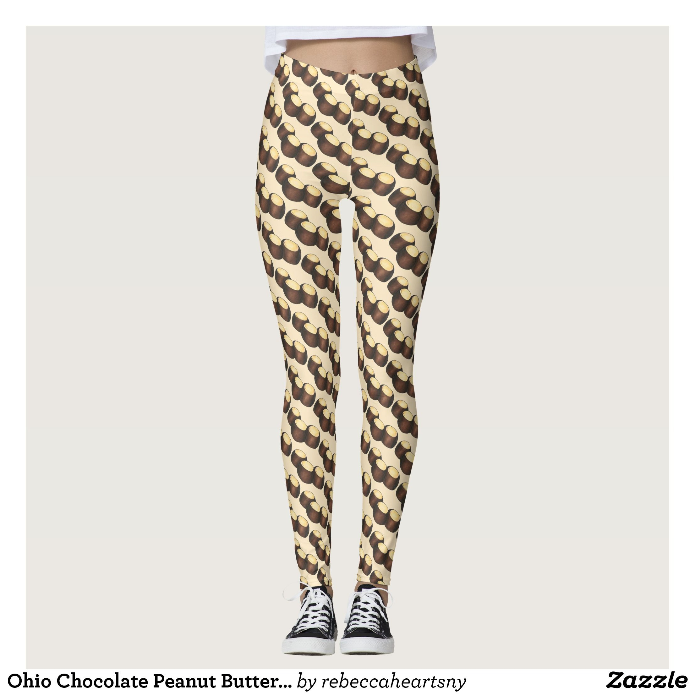 Leggings with flag of Ohio State, USA Leggings, Workout
