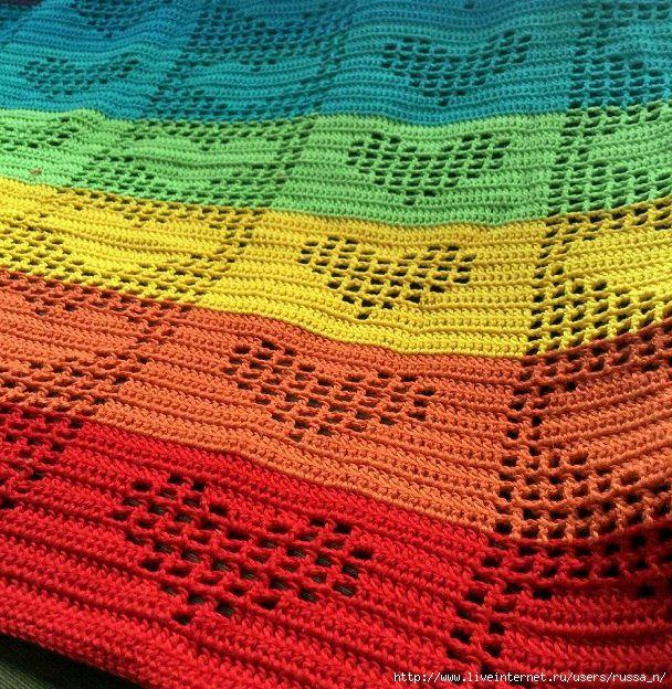 Crochet | Craft Ideas | Pinterest | Colchas