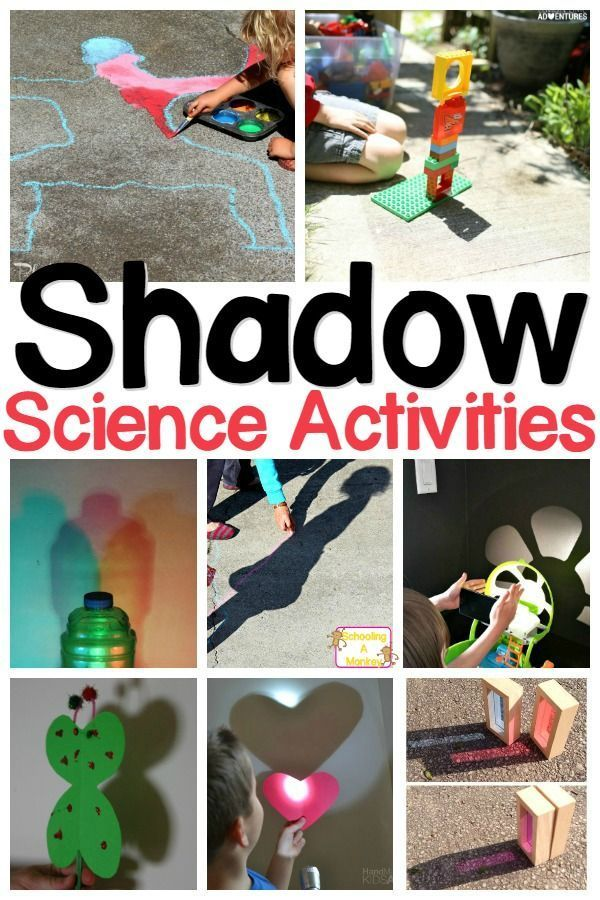 The Ultimate List of Shadow Experiments for Kids | Science ...