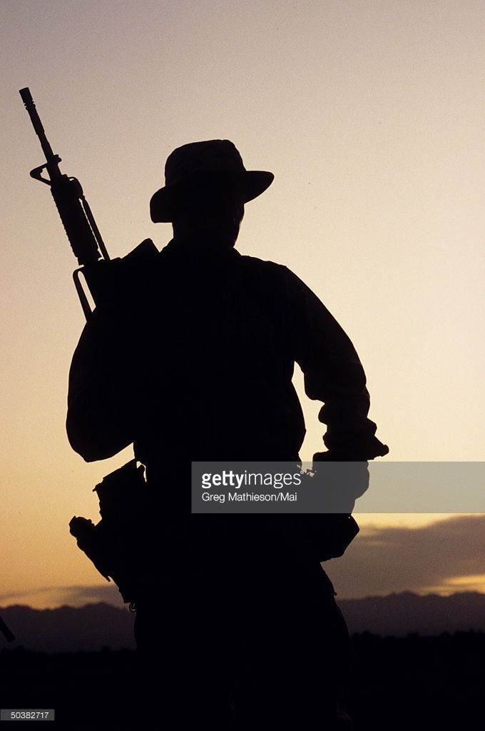 f79e60ab1fb Silhouette of US Navy SEAL Team 5 personnel