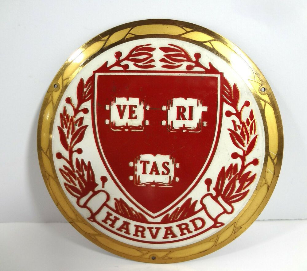 Details about Badge Signs Harvard College Universitie