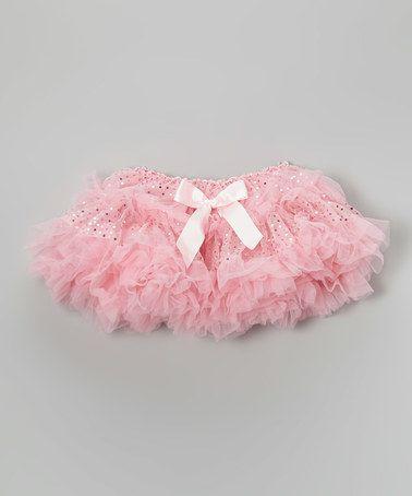 Another great find on #zulily! Pink Fluffy Pettiskirt - Infant, Toddler & Girls #zulilyfinds