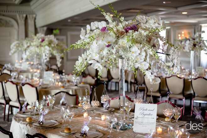 Simply Gorgeous Table Setting At The Park Savoy Njweddingvenues