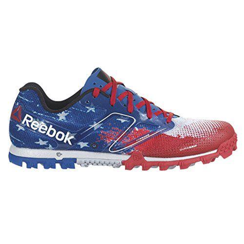 sale retailer 4a810 21b78 Reebok All Terrain Super USA Mens Running Shoe 12.5,12.5 Red-Royal ...