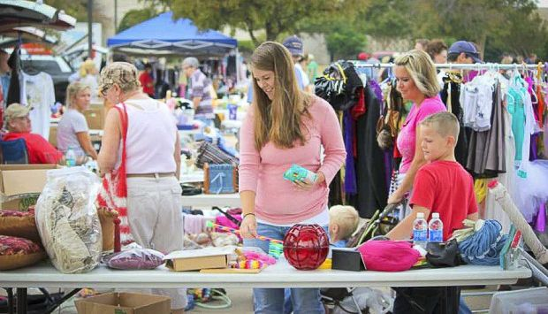 City Of Mckinney To Hold Community Garage Sale And Craft Fair Community Garage Sale Craft Fairs Garage Sales