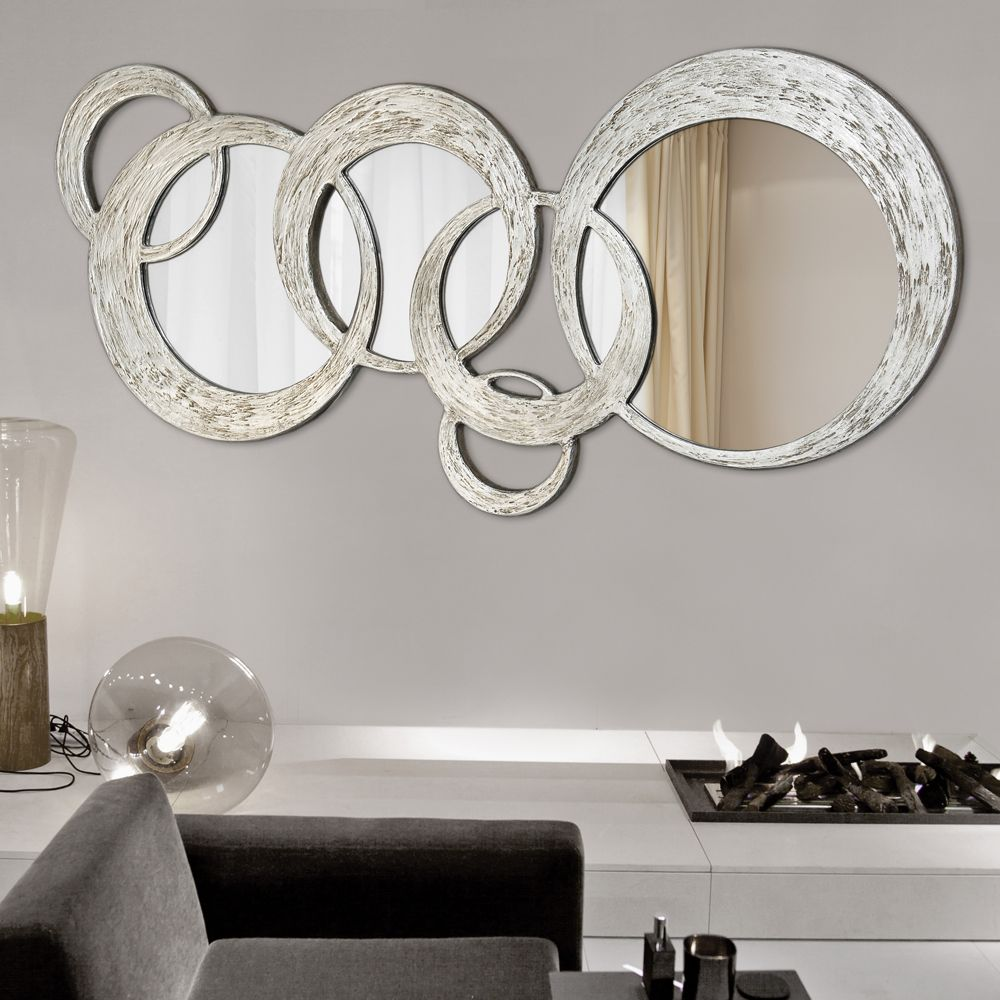 Miroir circles pintdecor v tements et accessoires porter pinterest miroirs miroirs for Miroir mural design italien