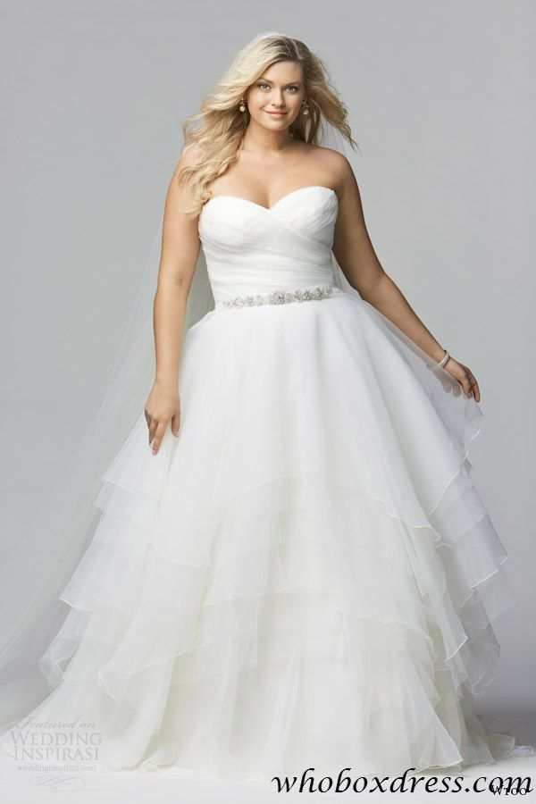 plus size wedding dress | More Wedding stuff | Pinterest | Privat ...