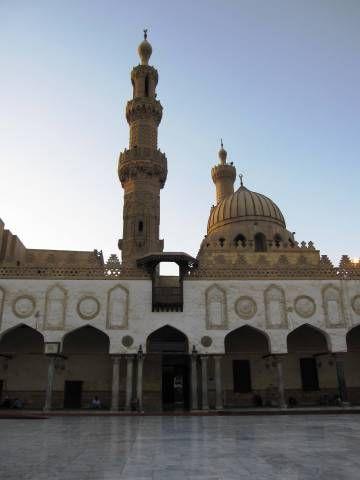Sayedna al Hussein mosque. Cairo, Egypt.