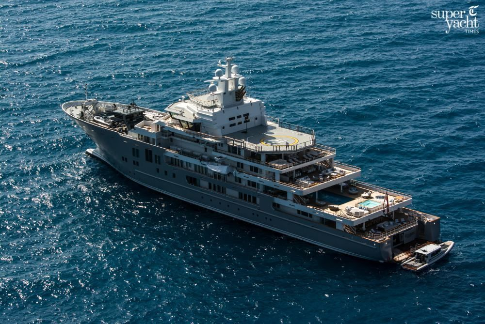 In Pictures Exclusive Views Of 107m Explorer Ulysses Superyacht