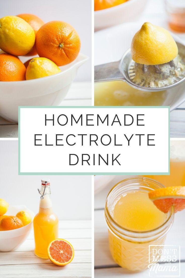 Homemade citrus electrolyte drink recipe homemade