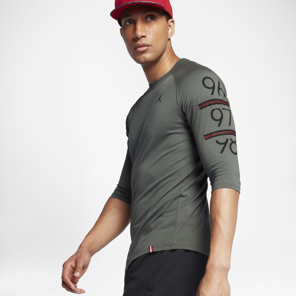 5a18b528700e Nike Jordan Baseball T Shirt With Raglan Sleeves - DREAMWORKS