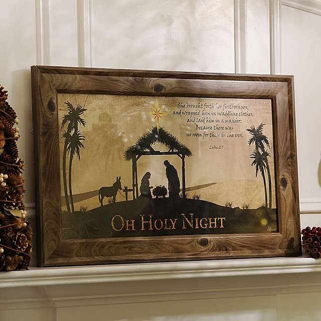 O Holy Night Framed Art Print | Kirklands