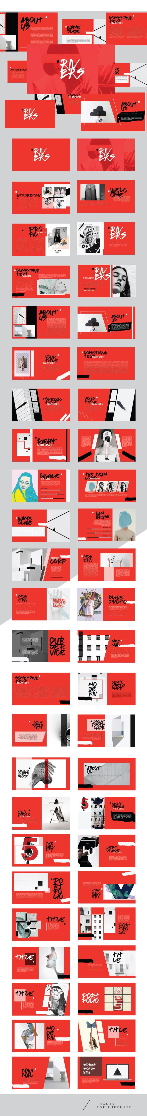 Rivers -  Multipurpose powerpoint template