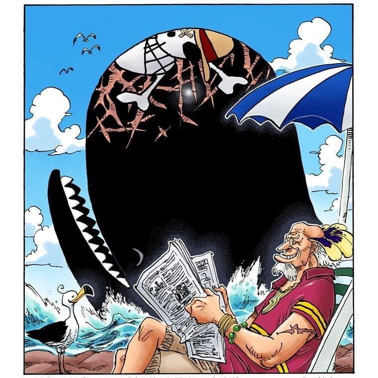 One Piece - Crocus & Laboon 2   ロジャー, ルフィ, 海賊