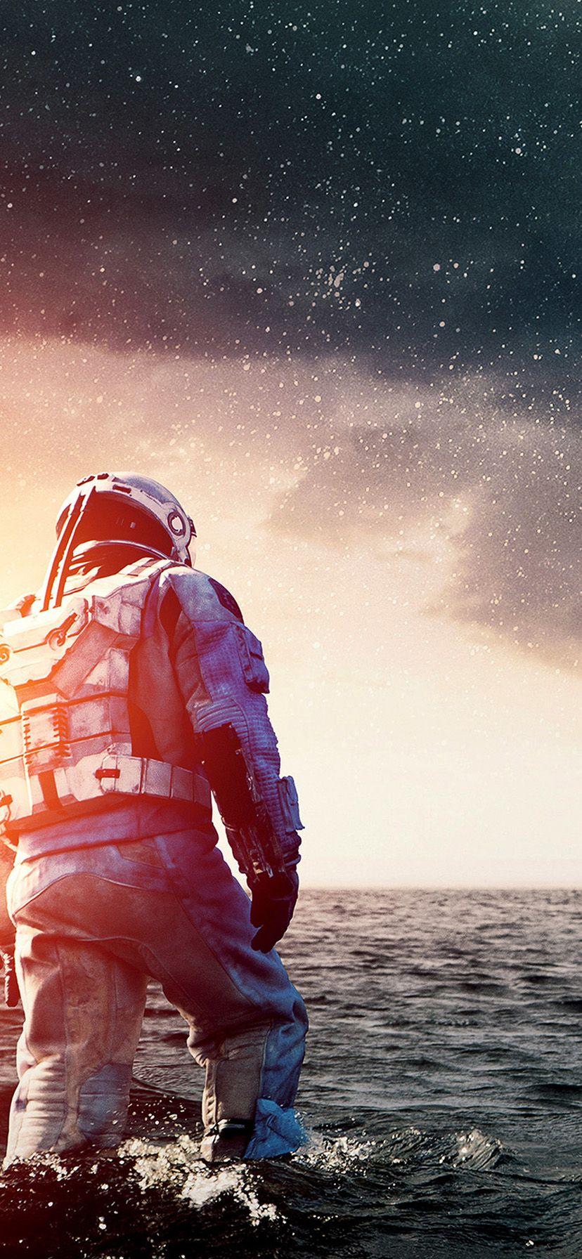iPhone XR Wallpaper HD Interstellar Wide Space Film Movie