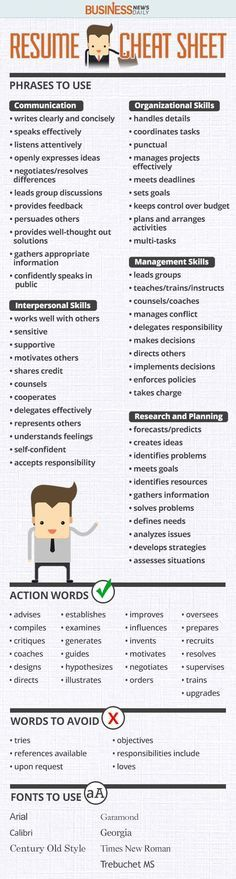 Compelling CV Words Resume Writing u2026 Pinteresu2026 - fonts to use on resume