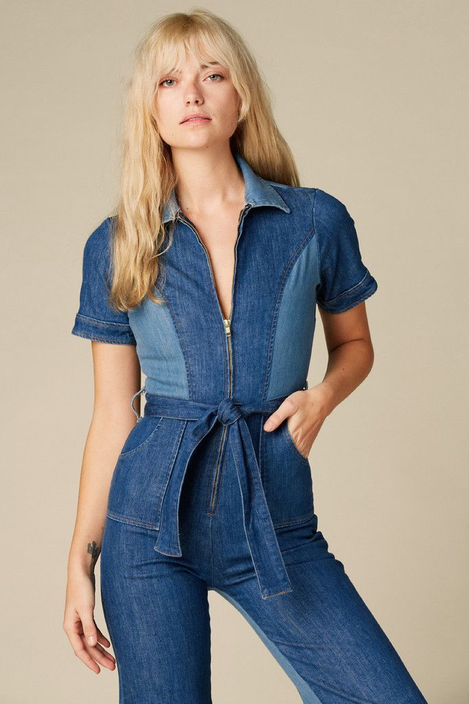 137d80c4f716 Blue Jean Baby Denim Jumpsuit – Stoned Immaculate Clothing