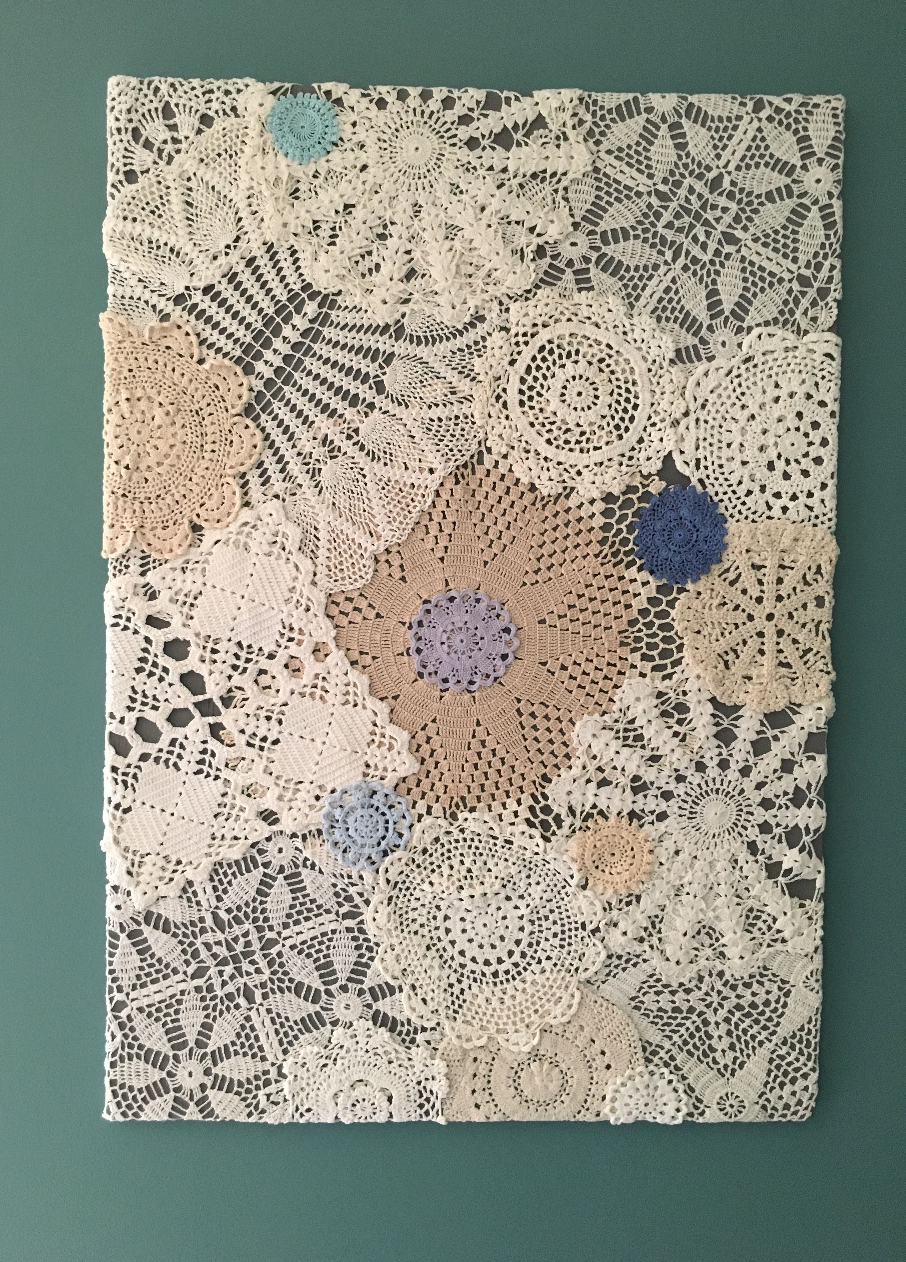 My Doily Board. Inspired by what I have found on Pinterest. | Doily ...