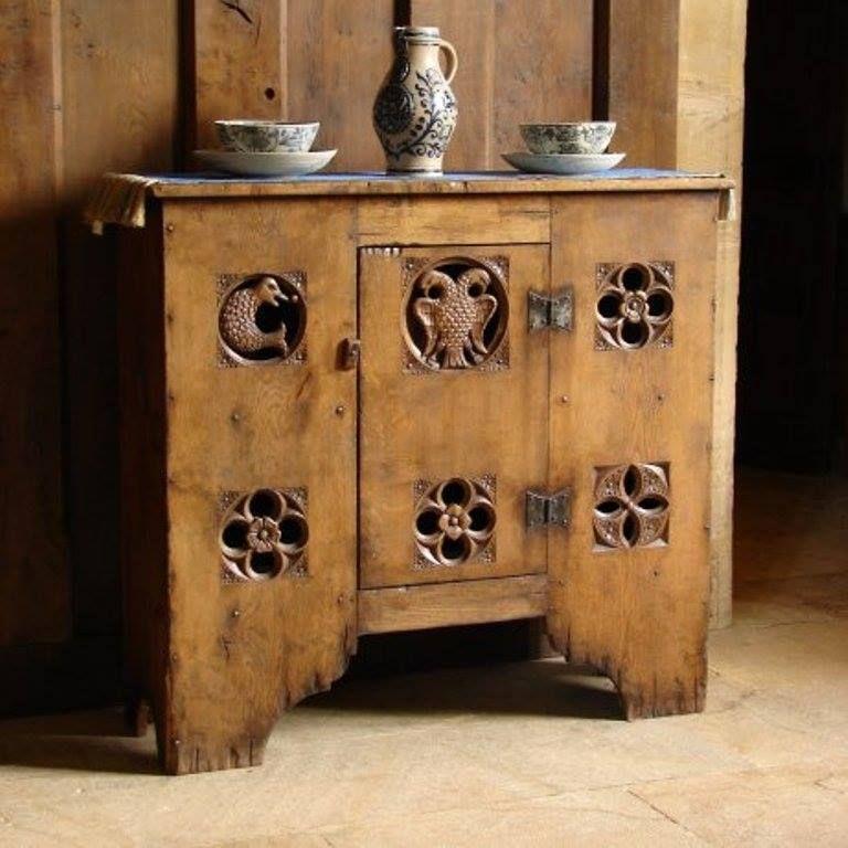 Aumbry Cupboard. Medieval FurnitureGothic ...