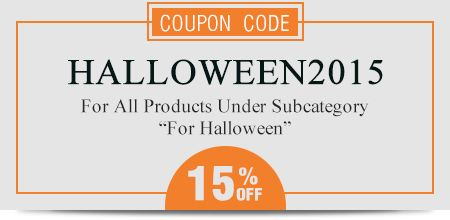 Coupon Code: HALLOWEEN2015