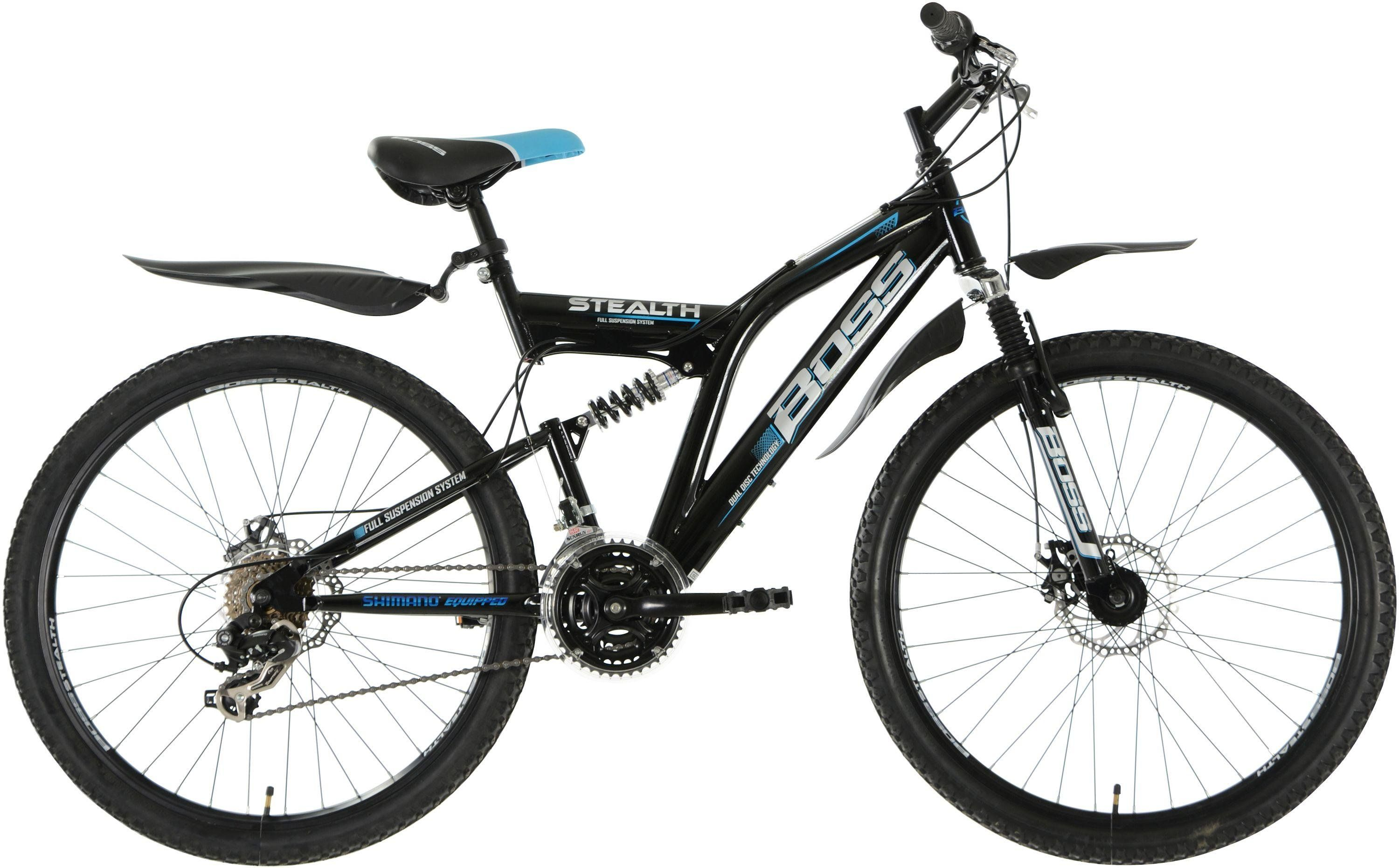 Boss Stealth 26 Inch Wheel Size Mens Mountain Bike In 2020 Mens