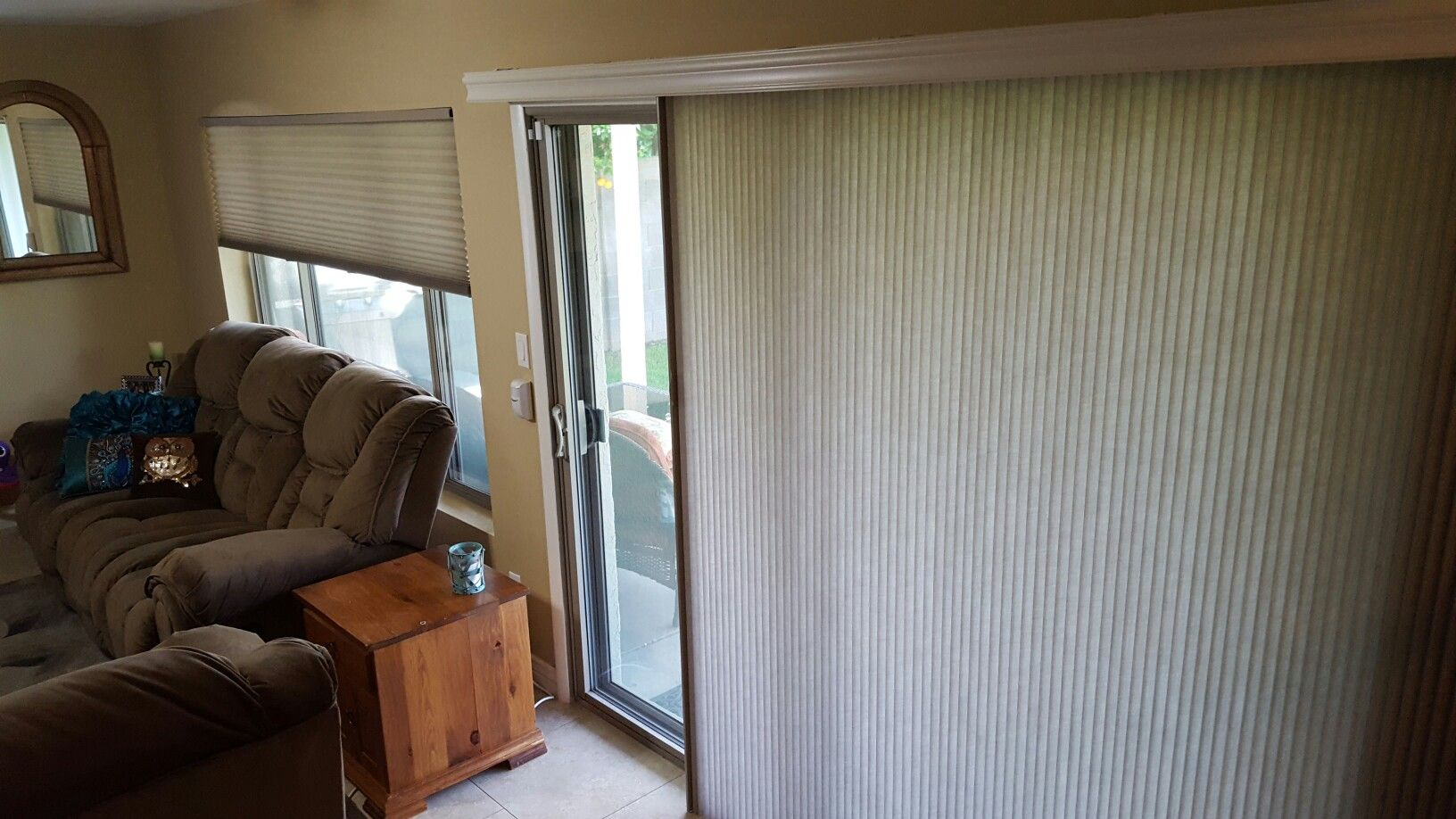 Hunter Douglas Vertiglide And Duette Honeycomb