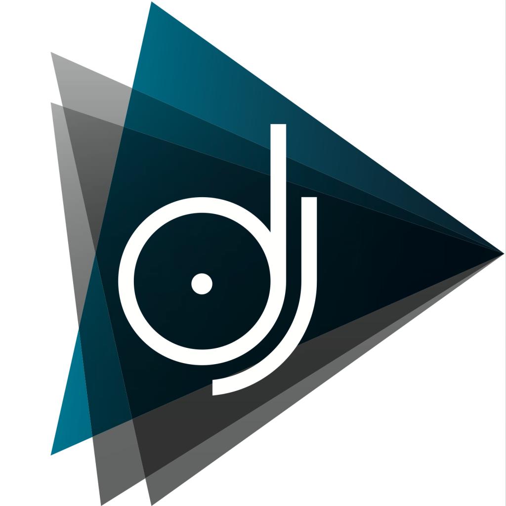 Dj Logo Templates Word Excel Pdf Formats Dj Logo Branding Design Logo Initials Logo Design