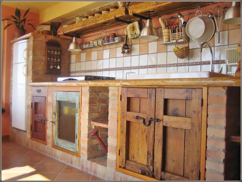 küche selber bauen kosten | rustic kitchen, brick kitchen