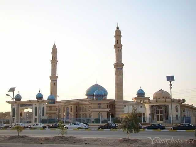 The Blue Mosque, Fallujah, Iraq.