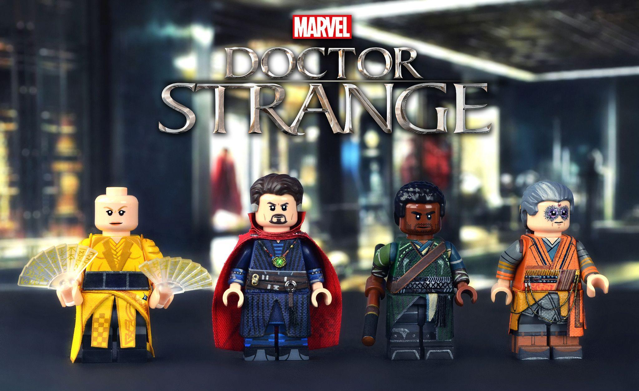 LEGO Marvel : Doctor Strange Minifigures