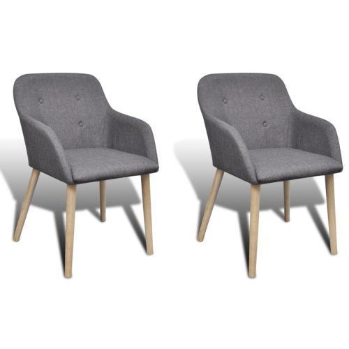 2x Stuhle Stuhl Stuhlgruppe Esszimmerstuhle Esszimmerstuhl Armlehne