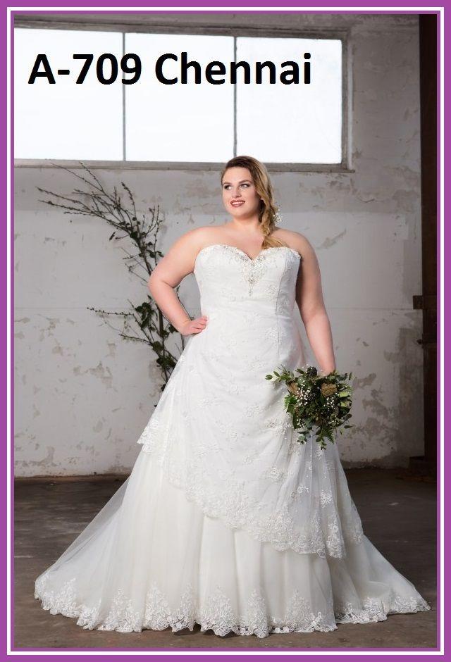 Vestidos de novia para mujeres grandes