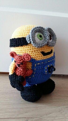 Minion bob crochet   Crochet I Like - Minions   Pinterest ...