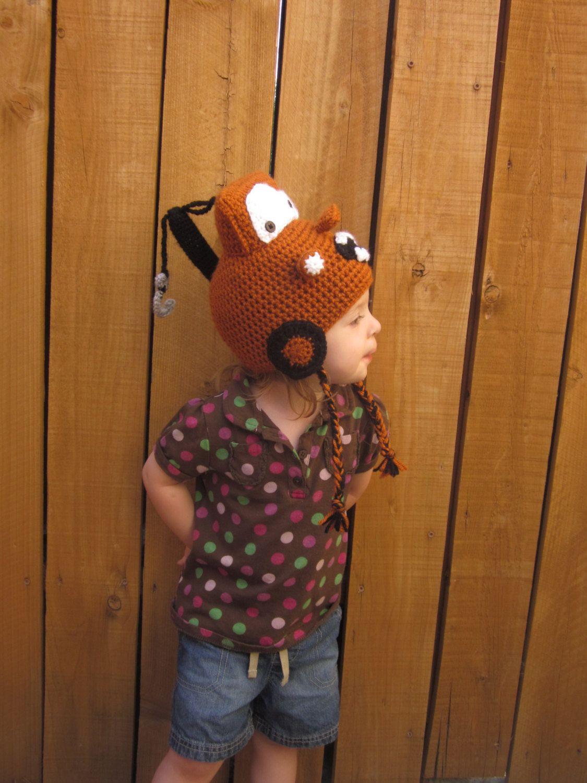 Rusty Tow Truck Hat - Crochet Tow Truck Hat - Crochet Cars Hat ...