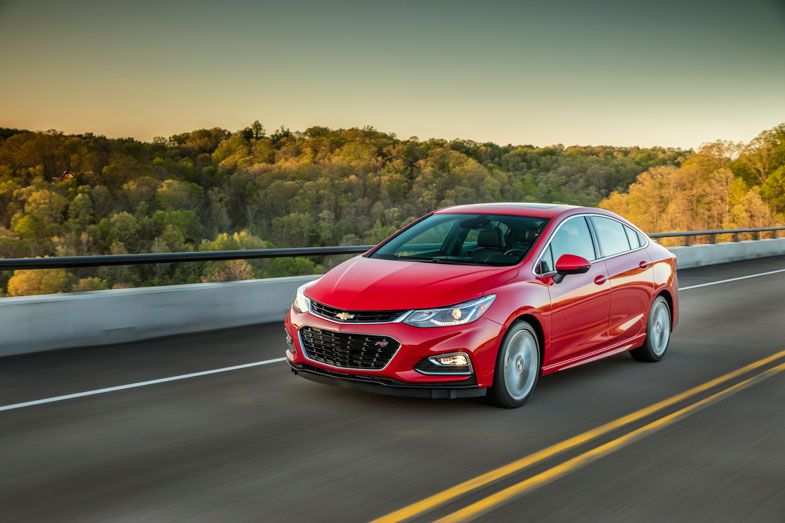Can The Chevrolet Cruze Win American Car Buyers Chevrolet Cruze