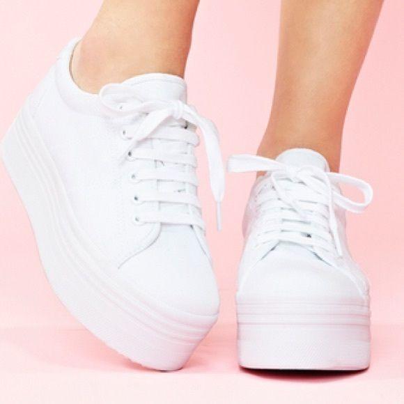 Jeffrey Campbell Zomg Platform Sneakers