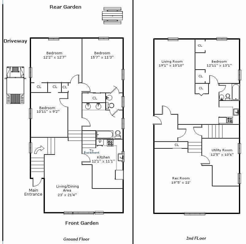 Farmhouse Barndominium Floor Plans Barndominiumfloorplanswithrvgarage Floor Plans Barndominium Floor Plans Barndominium