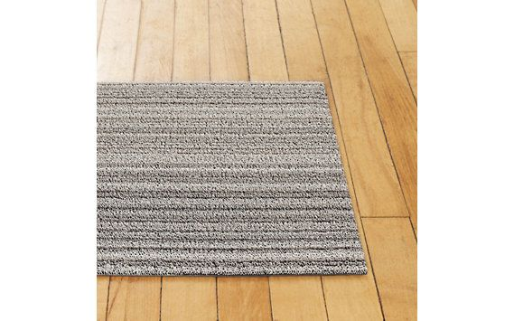 Chilewich Skinny Stripe Shag Mat Design Within Reach Stylish Flooring Chilewich Durable Flooring
