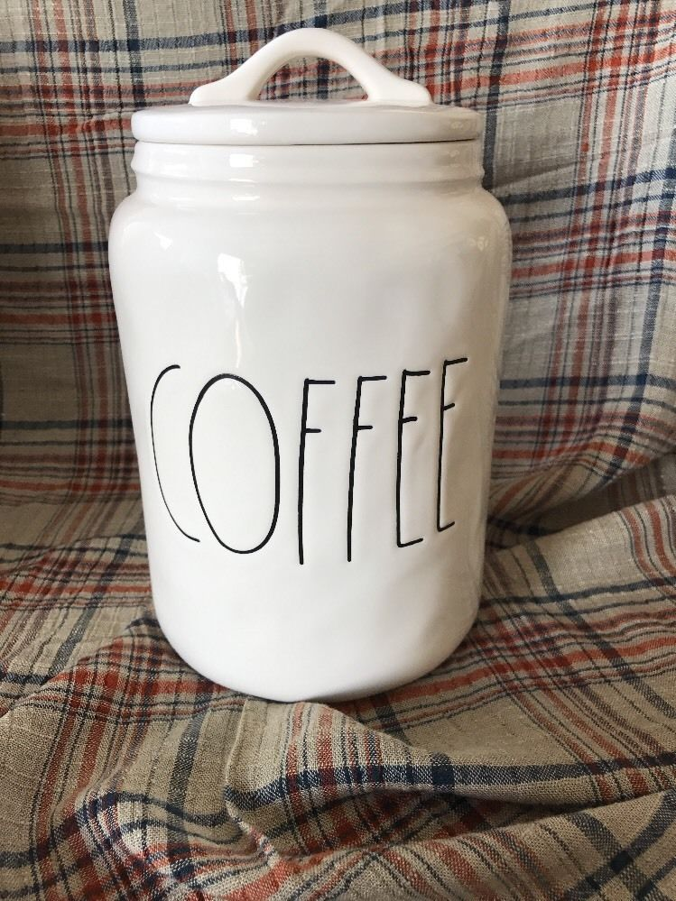 New Rae Dunn Clay Coffee Canister By Magenta Inc Coffee