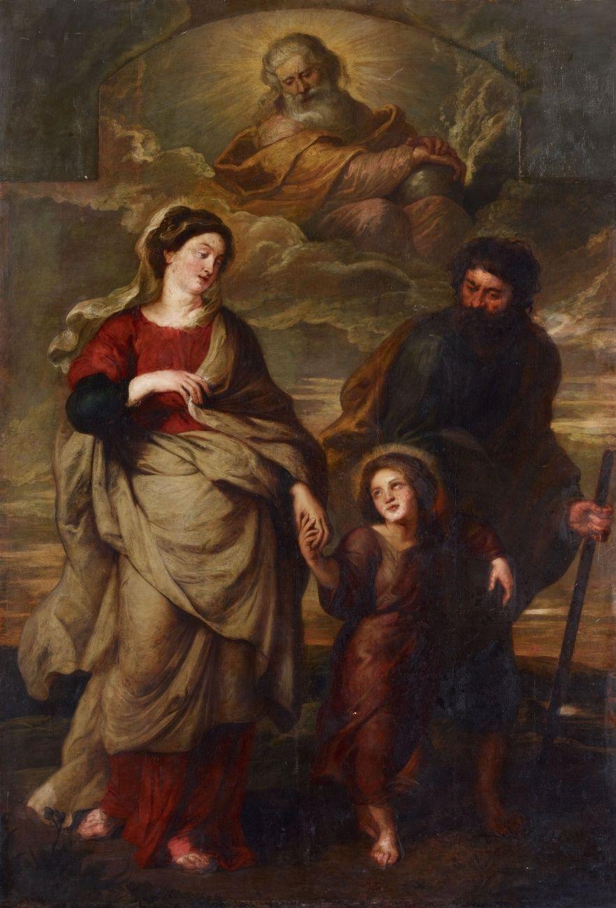 ámbito De Peter Paul Rubens De Regreso De La Sagrada Familia De Egipto 1620 Museo Metropolitano De Arte Nueva Arte Católica Planos De Fundo Cristãos Arte
