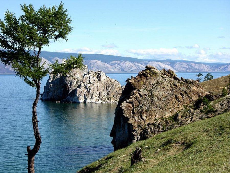 Фото острова Ольхон на озере Байкал   Lake baikal, Lake, Water