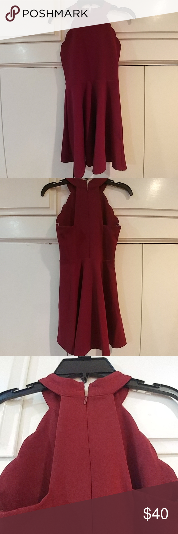 Sally Miller Bordeaux Dress Bordeaux zippered dress. Round neckline, with a cute curvy pattern down Sides of front. Sleeveless. Back has cut out near zipper. See pictures. NWT Sally Miller Dresses Casual #sallymiller Sally Miller Bordeaux Dress Bordeaux zippered dress. Round neckline, with a cute curvy pattern down Sides of front. Sleeveless. Back has cut out near zipper. See pictures. NWT Sally Miller Dresses Casual #sallymiller
