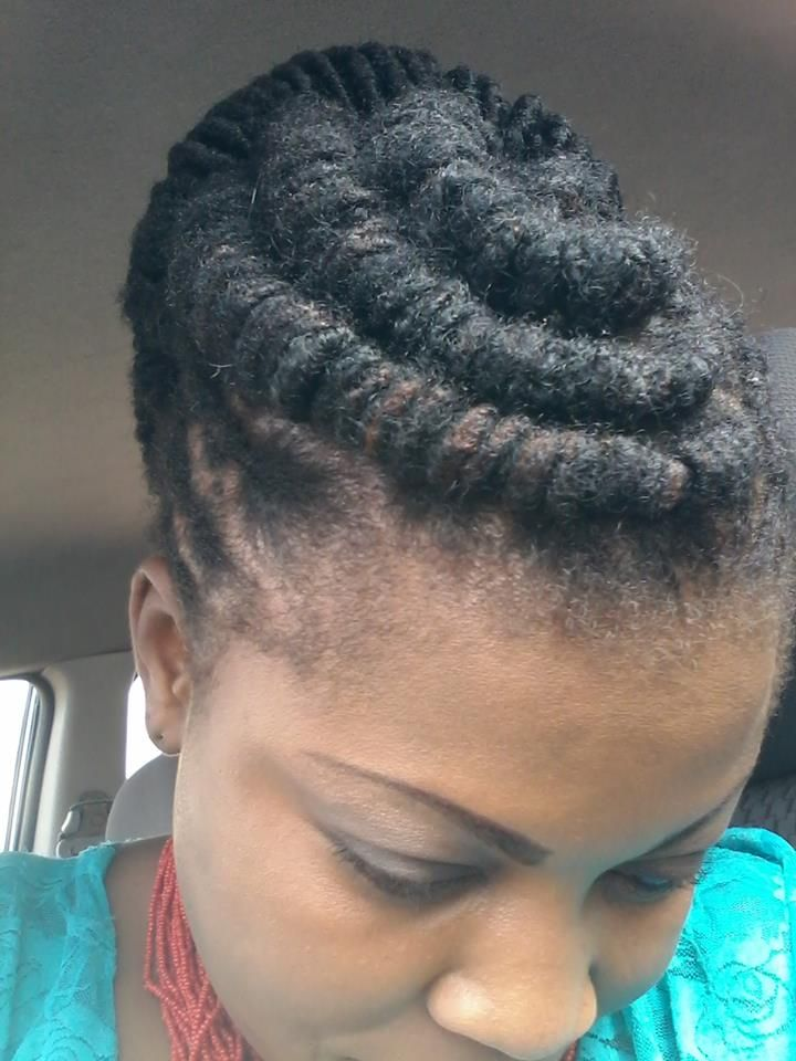 simple barrel rolls. #locs hair