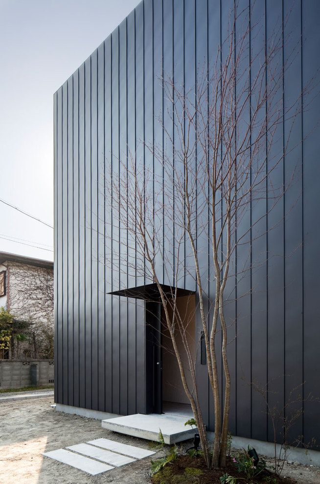 Standing Seam Cladding, Ant House, MA-STYLE Architects, Japan