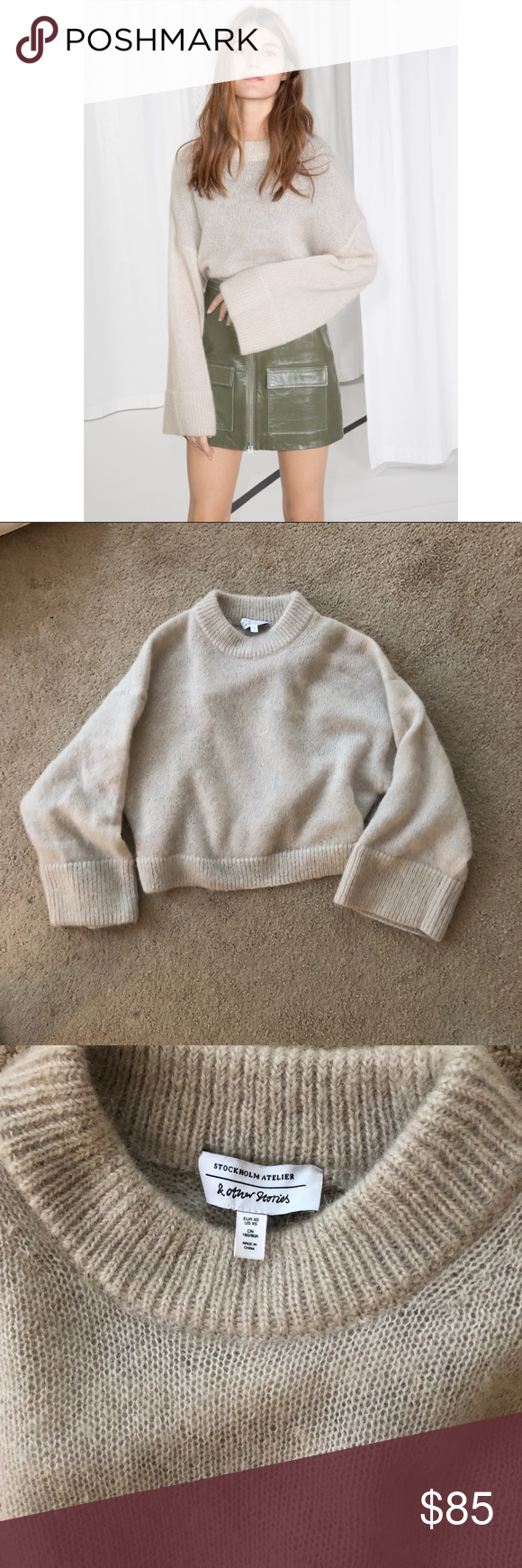 d988d79c9b And other stories mohair sweater jumper beige And other stories mohair sweater  jumper beige. Size xs. Worn once perfect condition. Sold out!