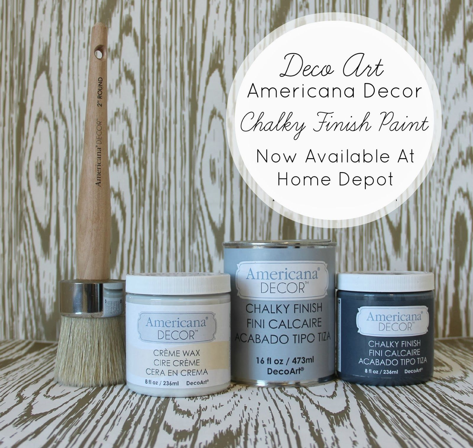 Americana Decor Chalky Finish Paint Tutorial