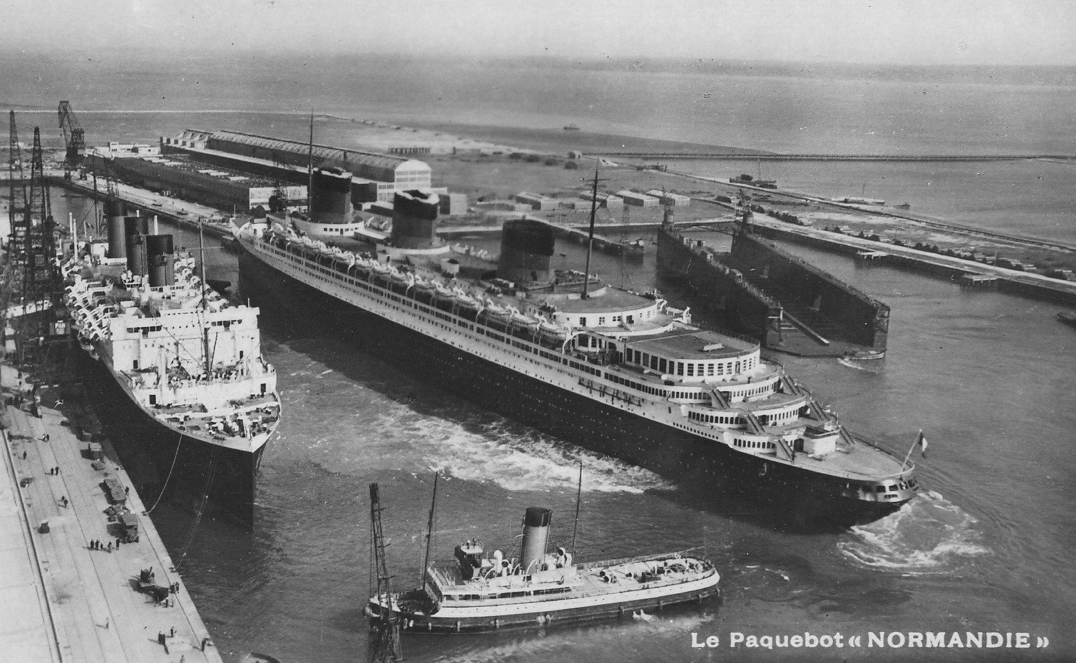 Pin On Ss Normandie  1935  Of Cgt  The French Line  Pc