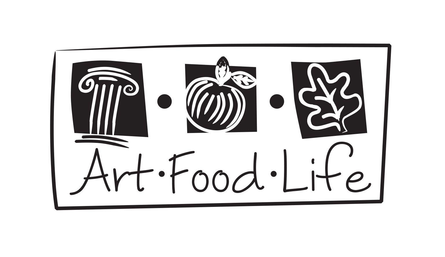 Logo Process Sample For Art Food Life Travel Business Company