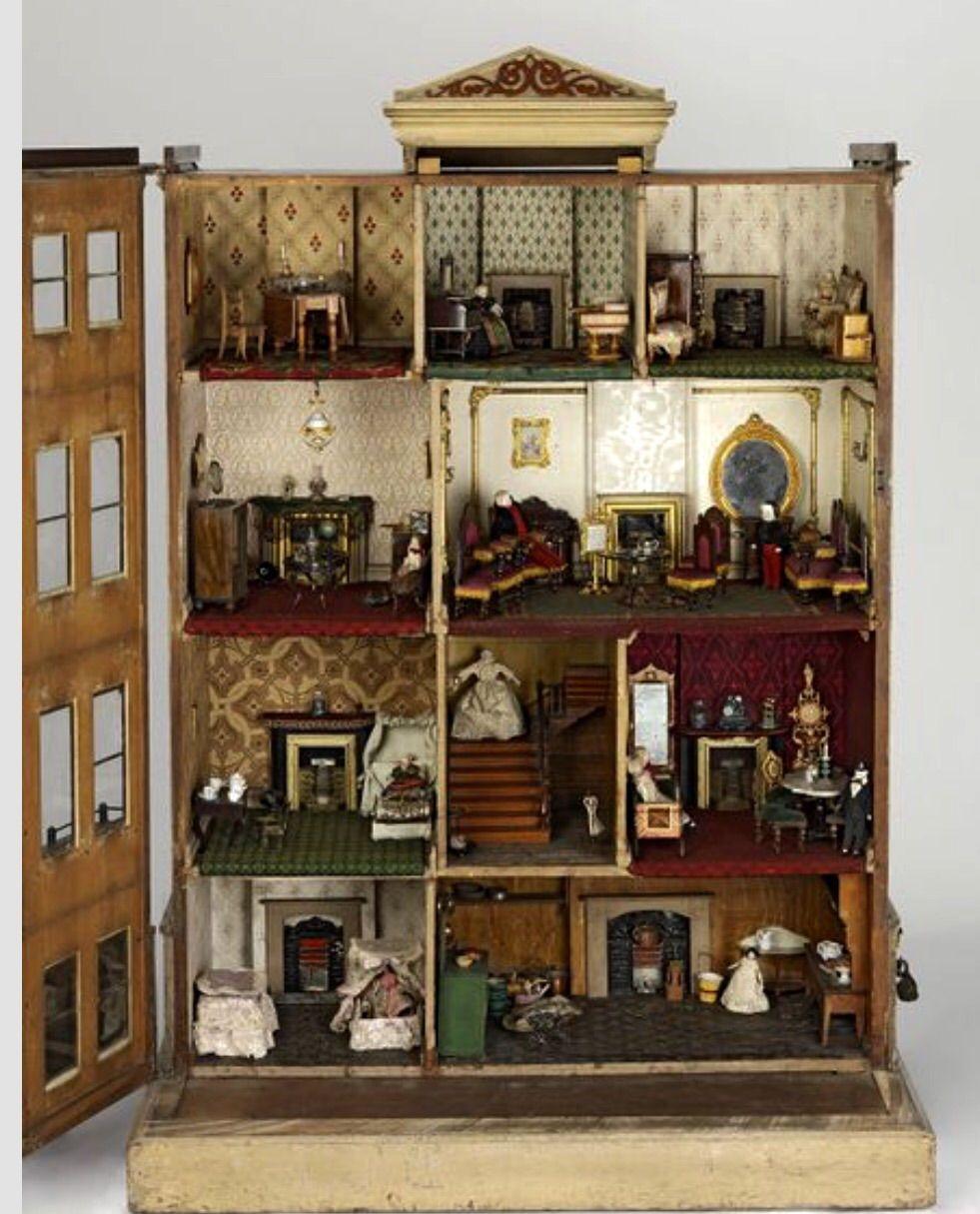 Dollhouse Miniatures Victoria Bc: 1750 Henriques Doll House