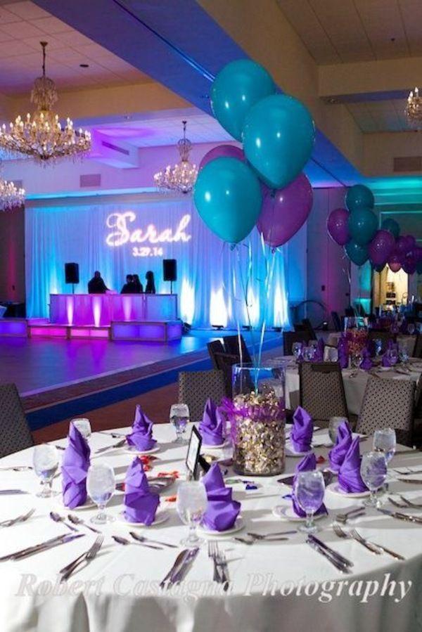 Purple and Blue Quinceañera theme | blogevieparty.ledybloggy #fiestade15años